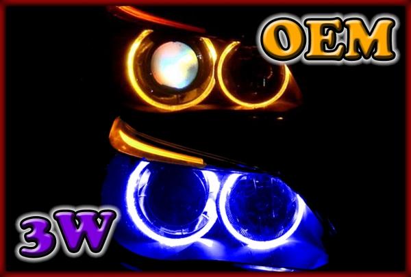 BMW E53 X5 04-06, E83 X3 06-10, E65/E66/E67/E68 01-08 3W LED Markers BLUE