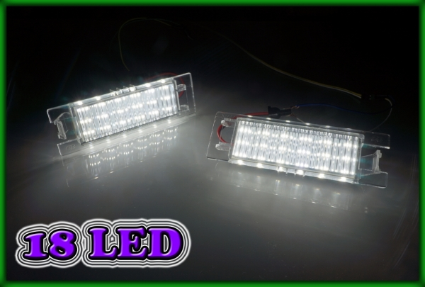OPEL/VAUXHALL Vectra C 02-09, Insignia 08- SMD LED Licence Plate Light