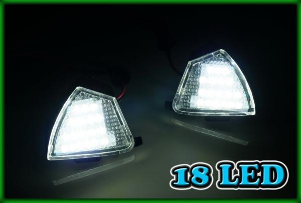 VW Golf/Rabbit MK5 04-05, Jetta MK5 06-10, Eos 06-08 SMD LED Under Wing Mirror Entry Lights