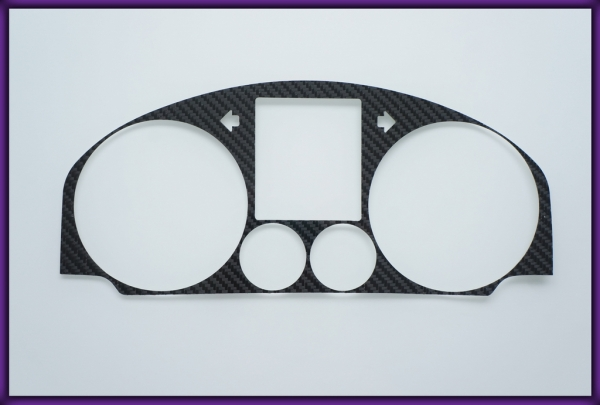 VW Golf / Rabbit MK5 03-09 CARBON FIBER Gauge Bezel