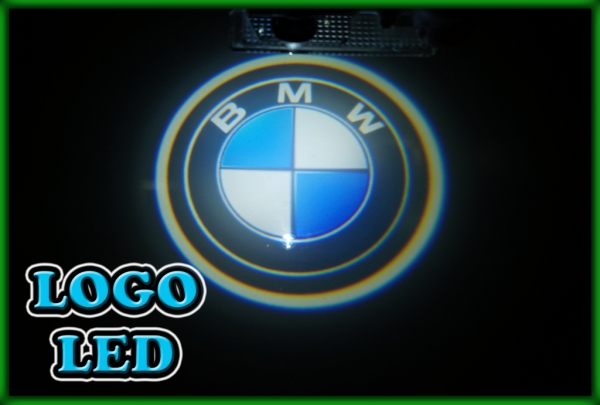 BMW E70 X5 06-13, E71 E72 X6 08-, E83 X3 06-10 3D Logo Door Courtesy Puddle Light