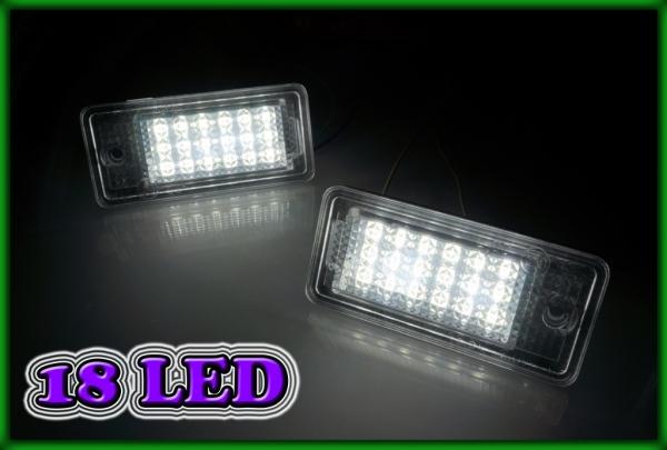 AUDI A6 C6 07-11, A3 8P 04-12 SMD LED Licence Plate Light