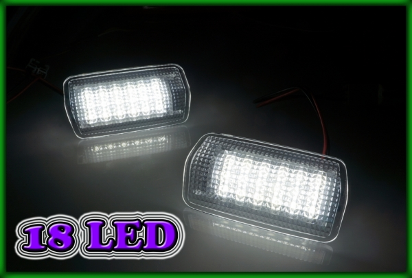 LEXUS RX300/RX330/RX350/RX400h 03-08, RX350/RX450h 09- SMD LED Door Courtesy Light