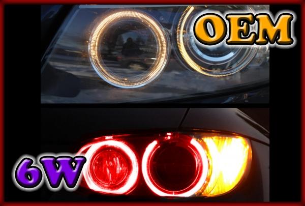 BMW E70 X5 06-13 XENON, E71/E72 X6 07- XENON, E84 X1 09- 6W LED Markers RED