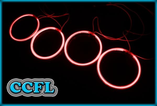 BMW E30 82-94, E32 86-94, E34 88-96 CCFL Angel Eyes Rings RED