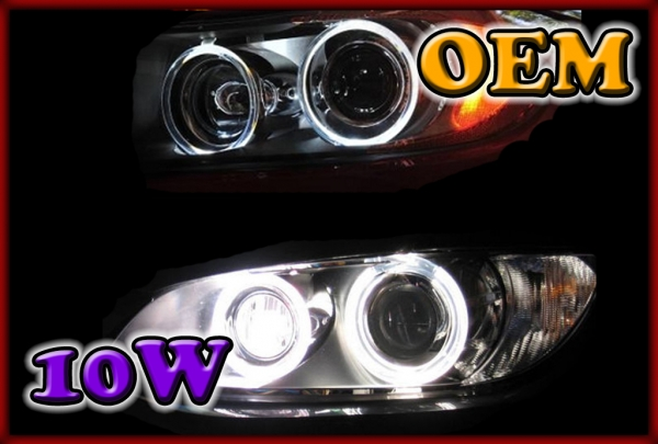 BMW E81 07-12, E82 07-, E87 07-11, E88 07- 10W LED Markers WHITE