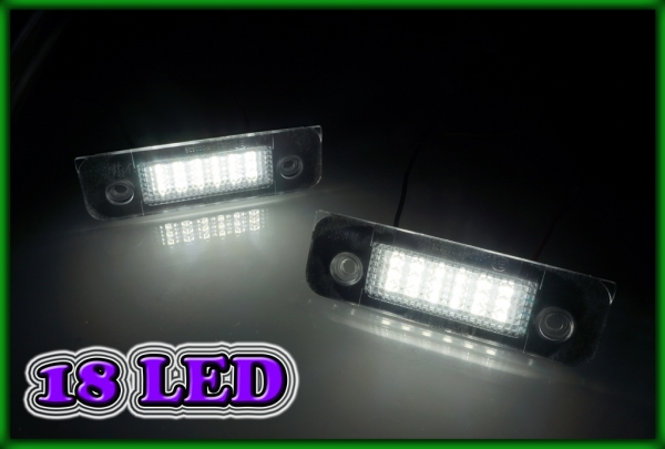 FORD Mondeo MK2 96-00, Fiesta/Fusion MK5 02-08 SMD LED Licence Plate Light