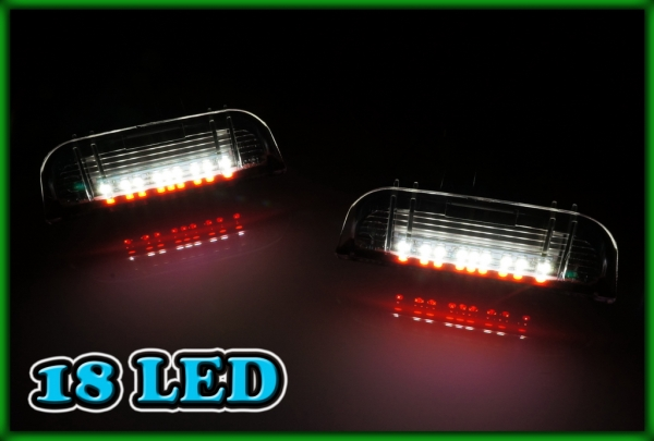 VW Jetta MK5 06-11, MK6 11-, e-Golf 14- SMD LED REAR Door Courtesy Puddle Warning Lights