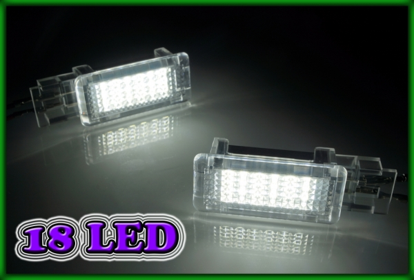 MB A-Class W176 12-, B-Class W246/W242 12- SMD LED Footwell Compartment Light