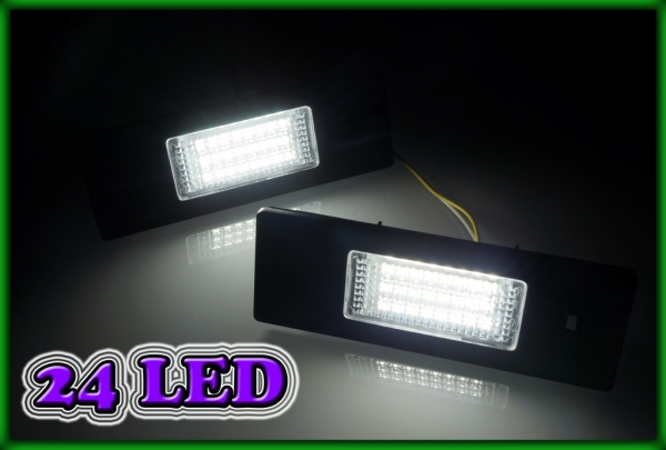 BMW E85/E86 Z4 02-08, E89 Z4 08-, E81/E87 03-11 SMD LED Licence Plate Light