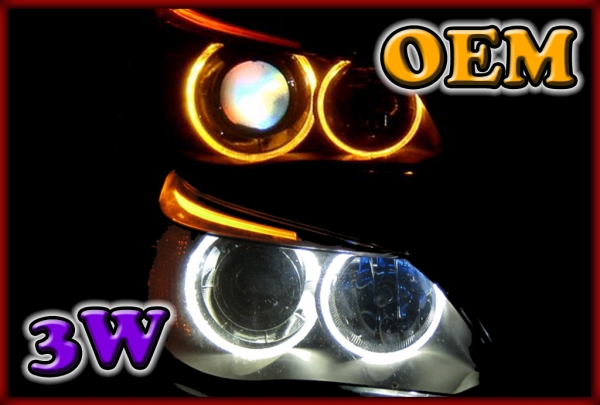 BMW E53 X5 04-06, E83 X3 06-10, E65/E66/E67/E68 01-08 3W LED Markers WHITE