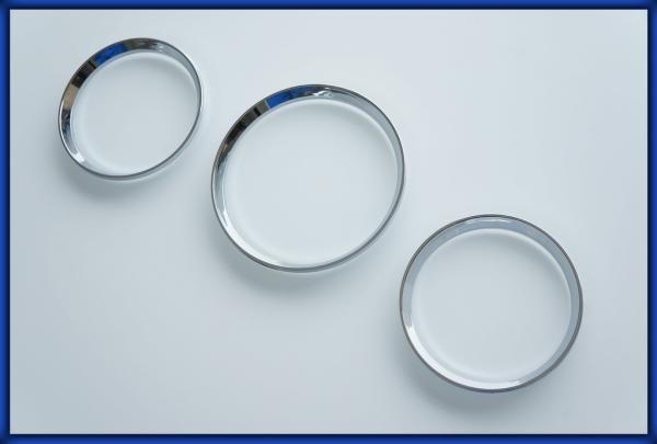 ACURA EL MK1 97-00 Gauge Rings CHROME
