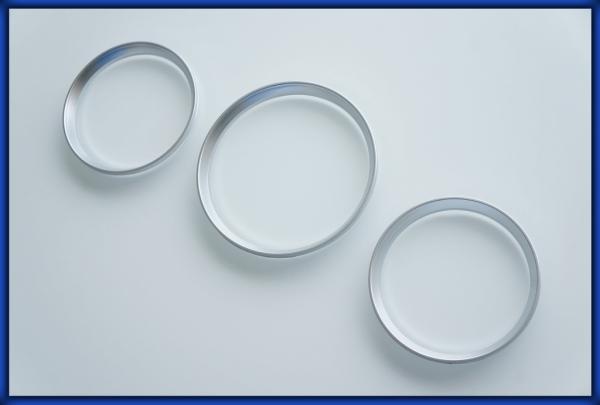ACURA EL MK1 97-00 Gauge Rings SILVER