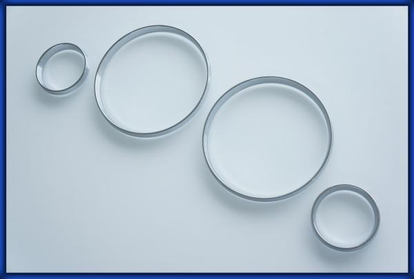 ACURA CL 97-99 Gauge Rings CHROME