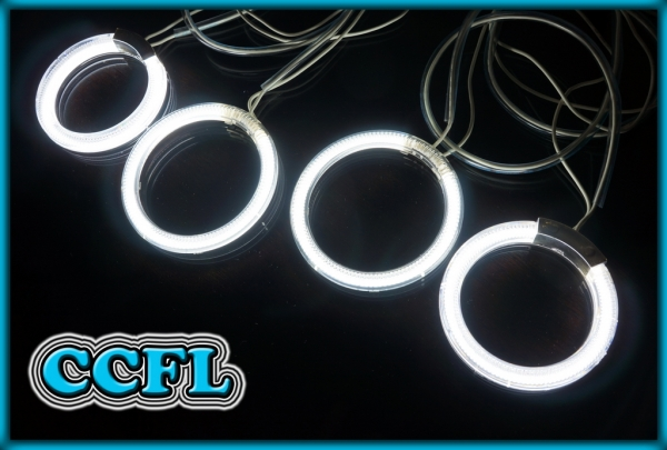 FORD Puma 97-01 CCFL Angel Eyes Rings WHITE