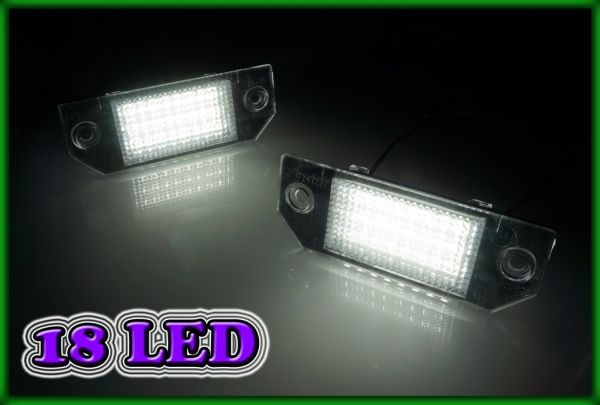 FORD Focus MK2 2D cabrio 06-10, C-MAX MK1 04-08 SMD LED Licence Plate Light