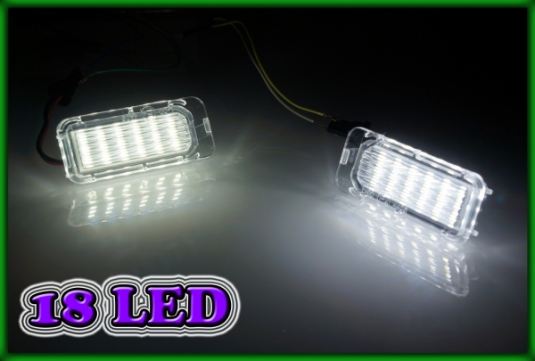 FORD Fiesta MK6 08-, Galaxy MK3 06- SMD LED Licence Plate Light