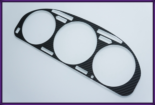 HONDA Accord MK4 90-93 CARBON FIBER Gauge Bezel