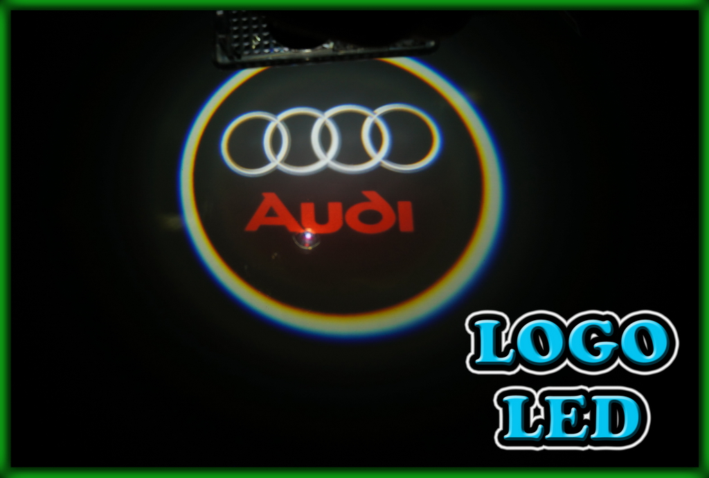 audi logo door courtesy lights smd led lights. Black Bedroom Furniture Sets. Home Design Ideas