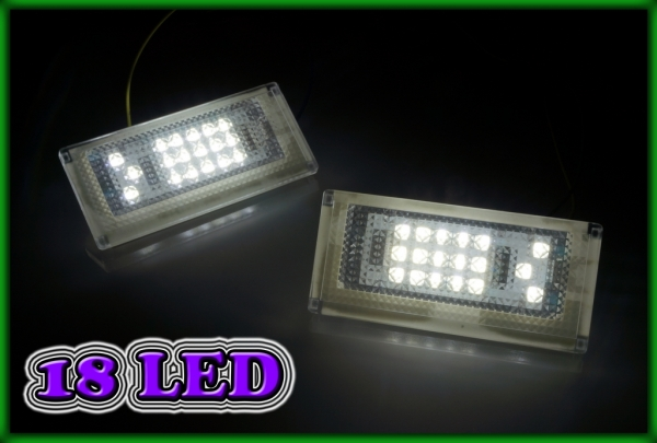 MINI R50 01-06, R52 04-08, R53 01-06 SMD LED Licence Plate Light