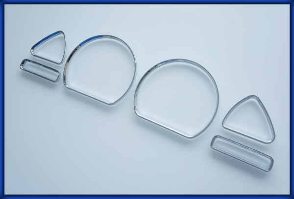 NISSAN S13 200SX 240SX 180SX 89-94 Gauge Rings CHROME