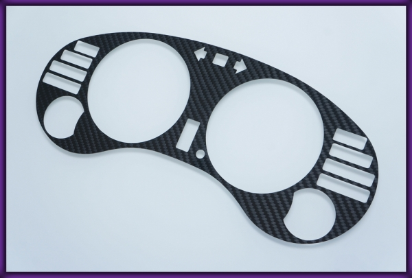 MITSUBISHI Eclipse 2G 95-99 AT CARBON FIBER Gauge Bezel